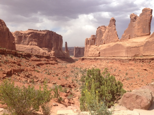 Park Avenue, Arches National Park, Moab, UT