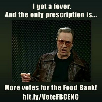 vote for the Food Bank of Central and Eastern North Carolina