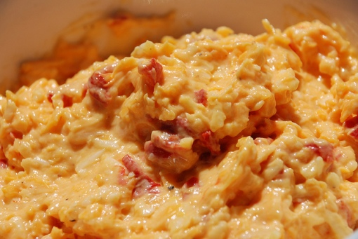 Pimento cheese, just because it's beautiful (photo by Kristen Taylor/Flickr CC license)
