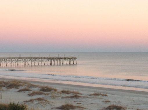 Ocean Isle Beach pier at sunset | Deirdre Reid