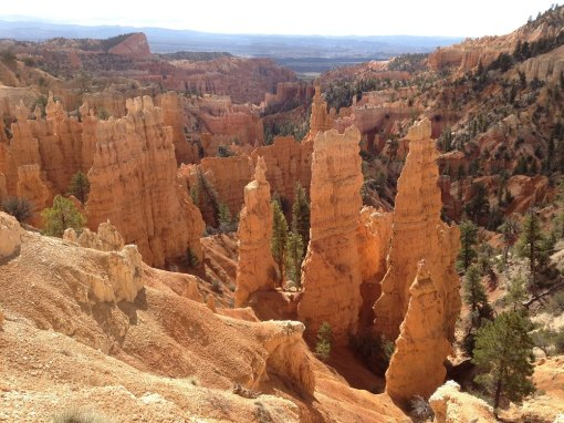 Bryce Canyon NP start of Fairyland Loop