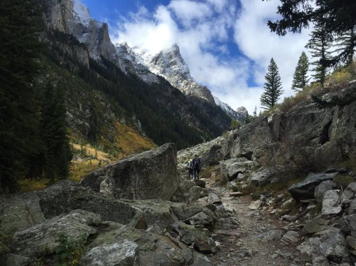 inspiration - Cascade Canyon Trail in Grand Teton National Park