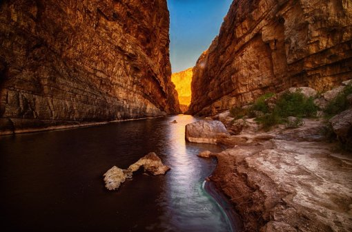 Santa Elena Canyon, Big Bend National Park