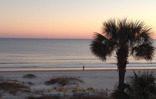 Inspiration: Ocean Isle Beach at sunset