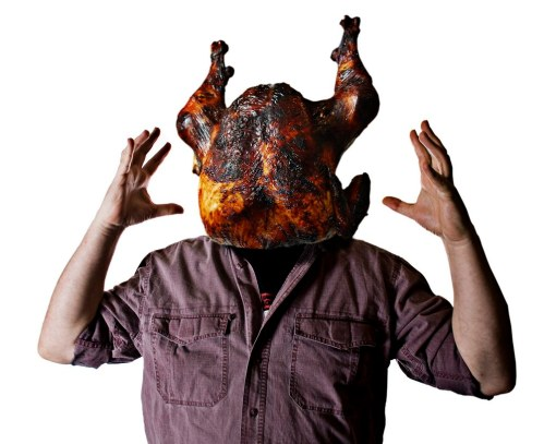 I need webinars not a turkey on my head!