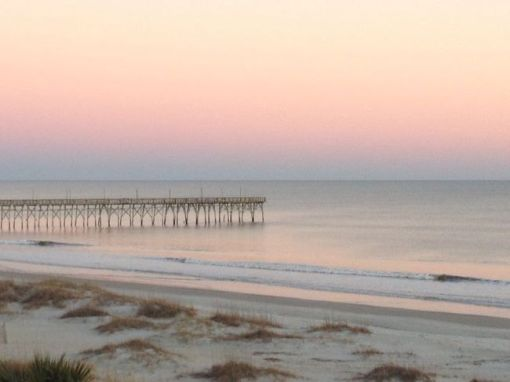 Ocean Isle Beach (NC) pier – inspiration for a weekly list of free educational events and resources for the association community